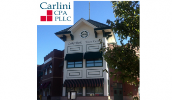 Carlini CPA, PLLC Relocated to a New Office, effective August 1